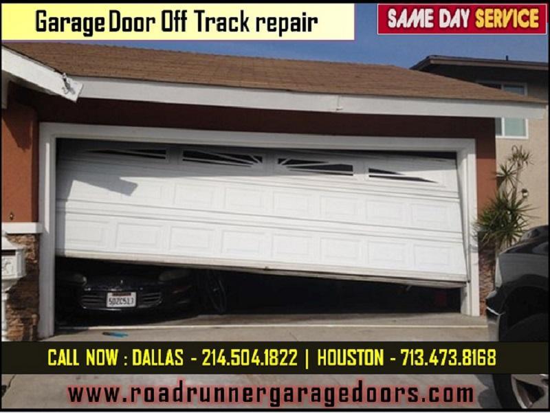 Affordable price on garage door off track repair service for Garage door repair in dallas tx