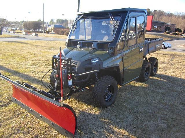 2011 Polaris Ranger 800 6x6 Cab Plow Charlotte Ad Free Ads